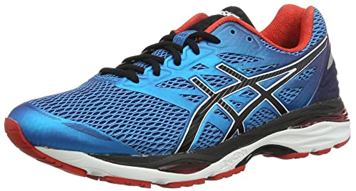 Asics Men's Gel-Cumulus 18 Running Shoes, Blue (Island Blue/Black/
