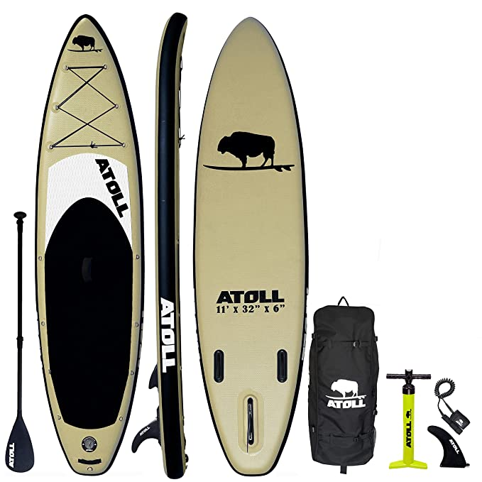 Best Inflatable SUP Boards : Atoll 11' Foot Inflatable Stand Up Paddle Board