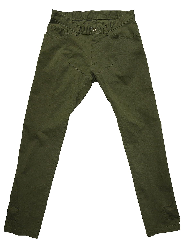 rin project(リンプロジェクト) ストレッチサイクル ロングパンツ 裾止め サドルパッチ 3001 カーキ L