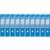 Ryman Colour Lever Arch Files Foolscap Pack of 10 (Blue)