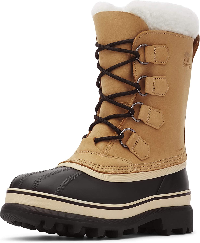 Sorel Caribou Shale//Stone Women/'s Waterproof Winter Snow Boots 1003812-051