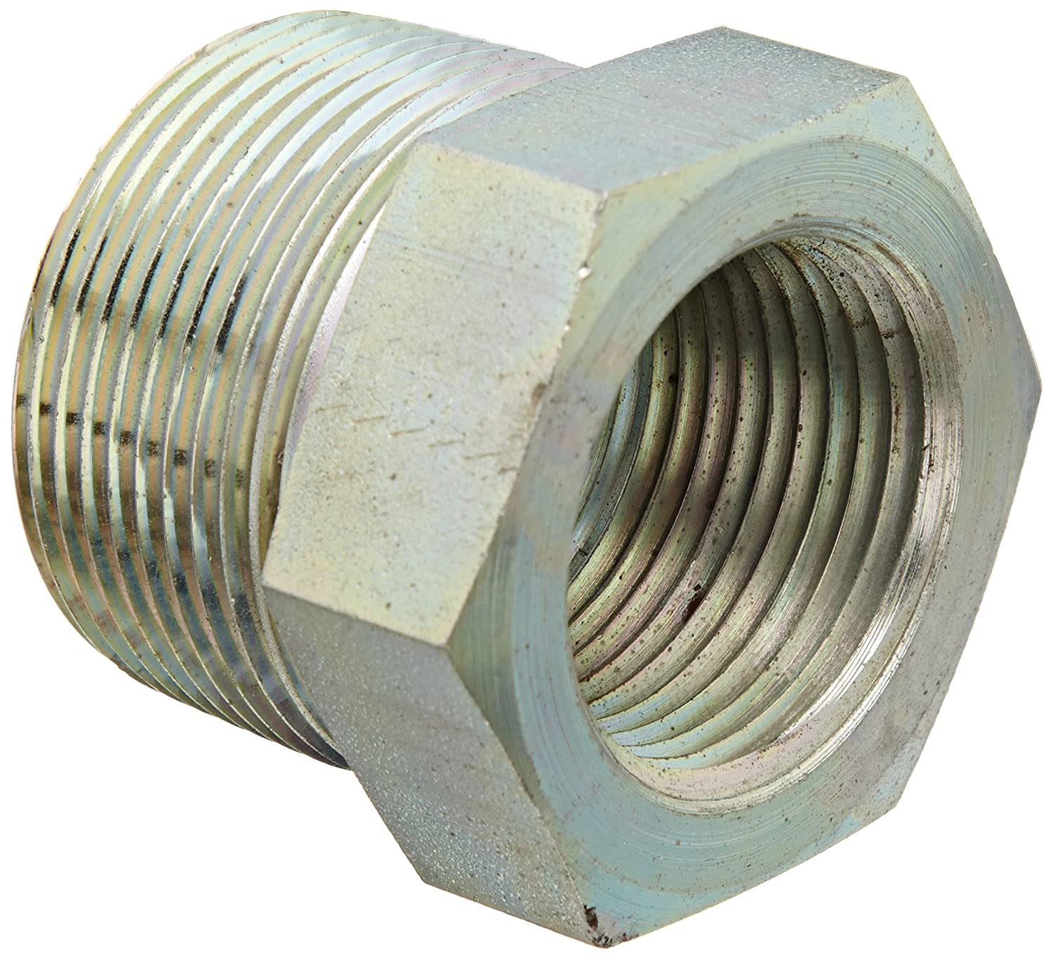 Eaton Aeroquip 2081-20-16S Steel Pipe Fitting 1-1//4 NPT Male x 1 NPT Female Bushing