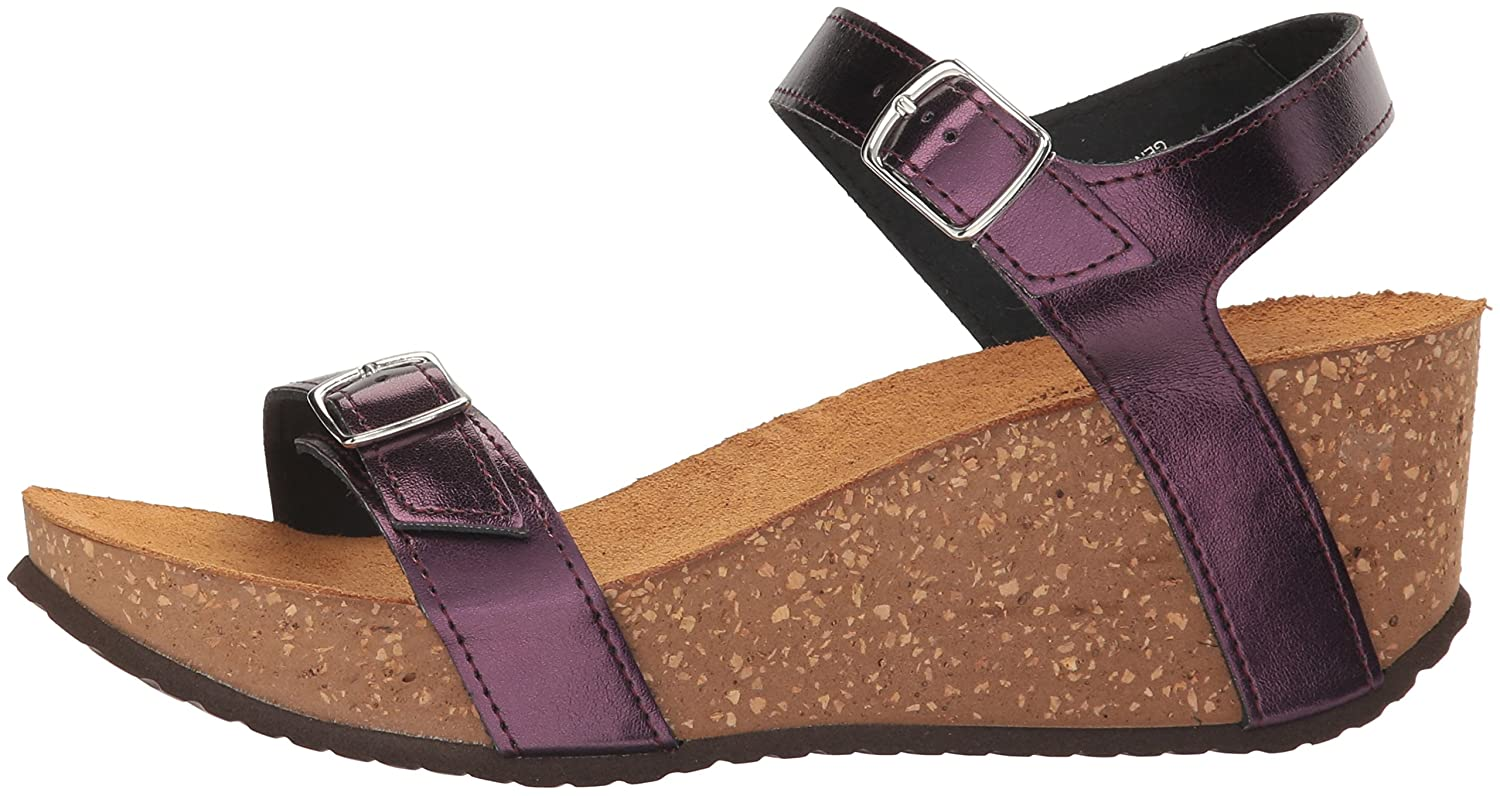 Spring M Step Women's Shiri Wedge Sandal B01MYOO718 37 M Spring EU (US 6.5-7 US)|Plum 98e332