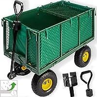 Kesser® Bollerwagen 550kg Transportwagen Gartenwagen Gerätewagen Handwagen