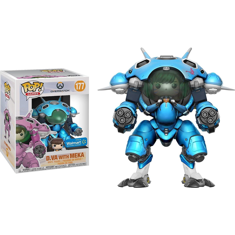 Amazon.com: Funko D.Va with MEKA (Walmart Exclusive): Overwatch x ...