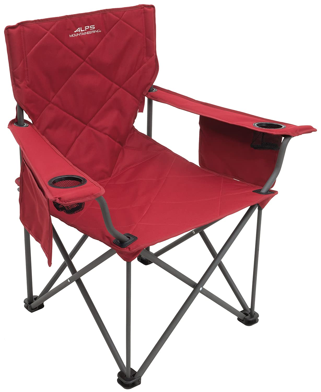 ALPS Mountaineering Erwachsene King Kong Chair, ROT, One Größe