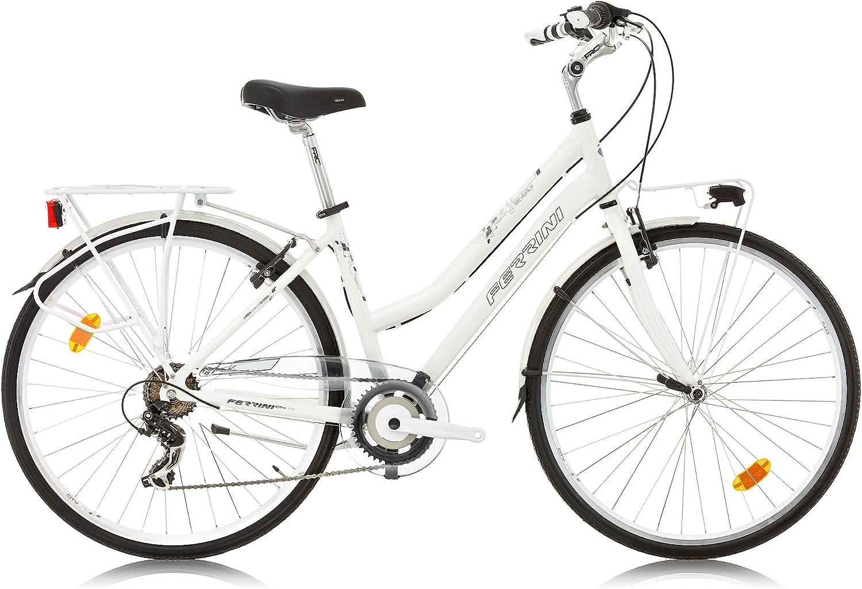 FERRINI CityLine Beverly Bicicleta de Paseo para Mujer Ruedas de ...