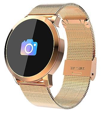 3aba669e08 Amazon.co.jp: スマートウォッチ スマート腕時計 活動量計 メンズ 心拍 ...