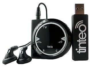 TINTEO TEO Duo Casque TV UHF Analogique: