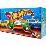 Hot Wheels V6697 50er Pack 1:64 Die-Cast Fahrzeuge extra großes Geschenkset, je 50 Spielzeugautos, zufällige Auswahl, ab 3 Jahren