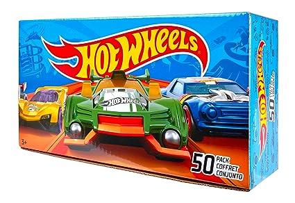 Amazon Com Hot Wheels Basic Car 50 Pack Packaging May Vary Toys