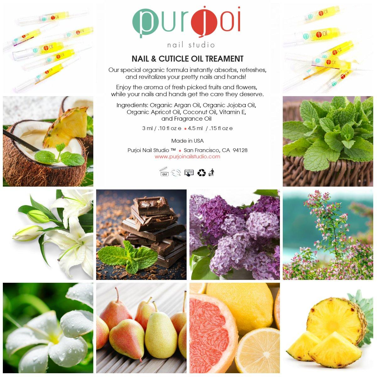 Amazon.com : Nail & Cuticle Oil Pen Organic Nail Cuticle Oil ...