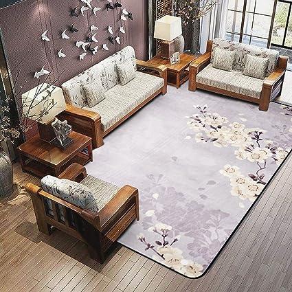 YLMD camoscio tappeti pelle-amichevole cinese stile prugna ...