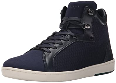 Ted Baker Mens Stoorb 2 Fashion Sneaker Dark Blue Textile 9 M US