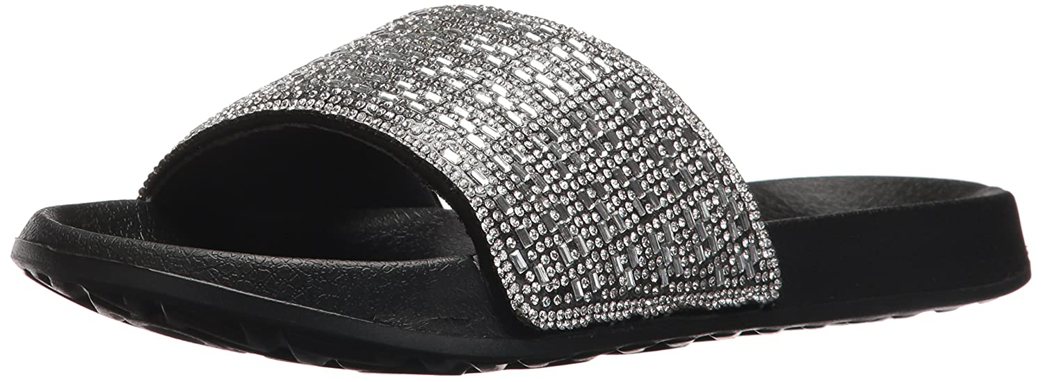 b1b6ec647bdc Skechers Women s 2nd Take-Summer Chic Slide Sandal  Amazon.co.uk  Shoes    Bags