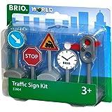 BRIO World 33864 - Verkehrszeichen-Set