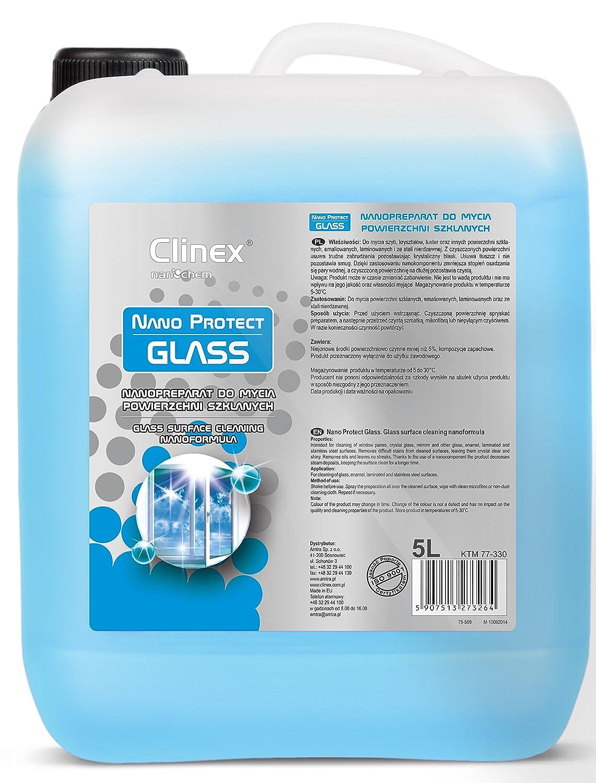 5L clinex Nano Protect Glass Cristal limpiador ...