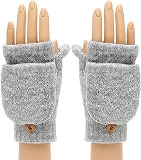 Men's Gloves Enthusiastic Fashion Drop Shipping Black Short Half Finger Fingerless Wool Knit Wrist Glove Winter Warm Gloves Workout For Women And Men