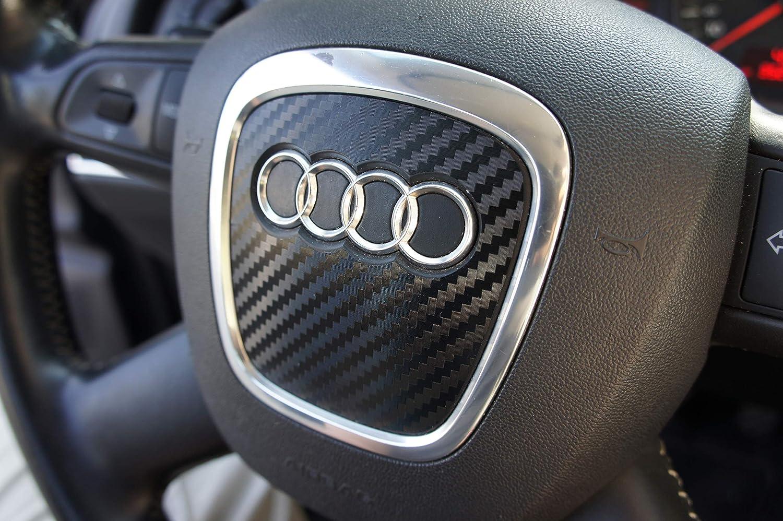 Lenkrad Airbag Folie Emblem Folie In 3d Carbon Schwarz Auto