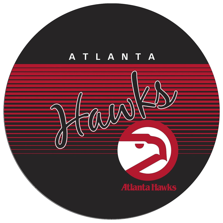 Chrome NBA Atlanta Hawks Hardwood Classics Padded Swivel Bar Stool One Size