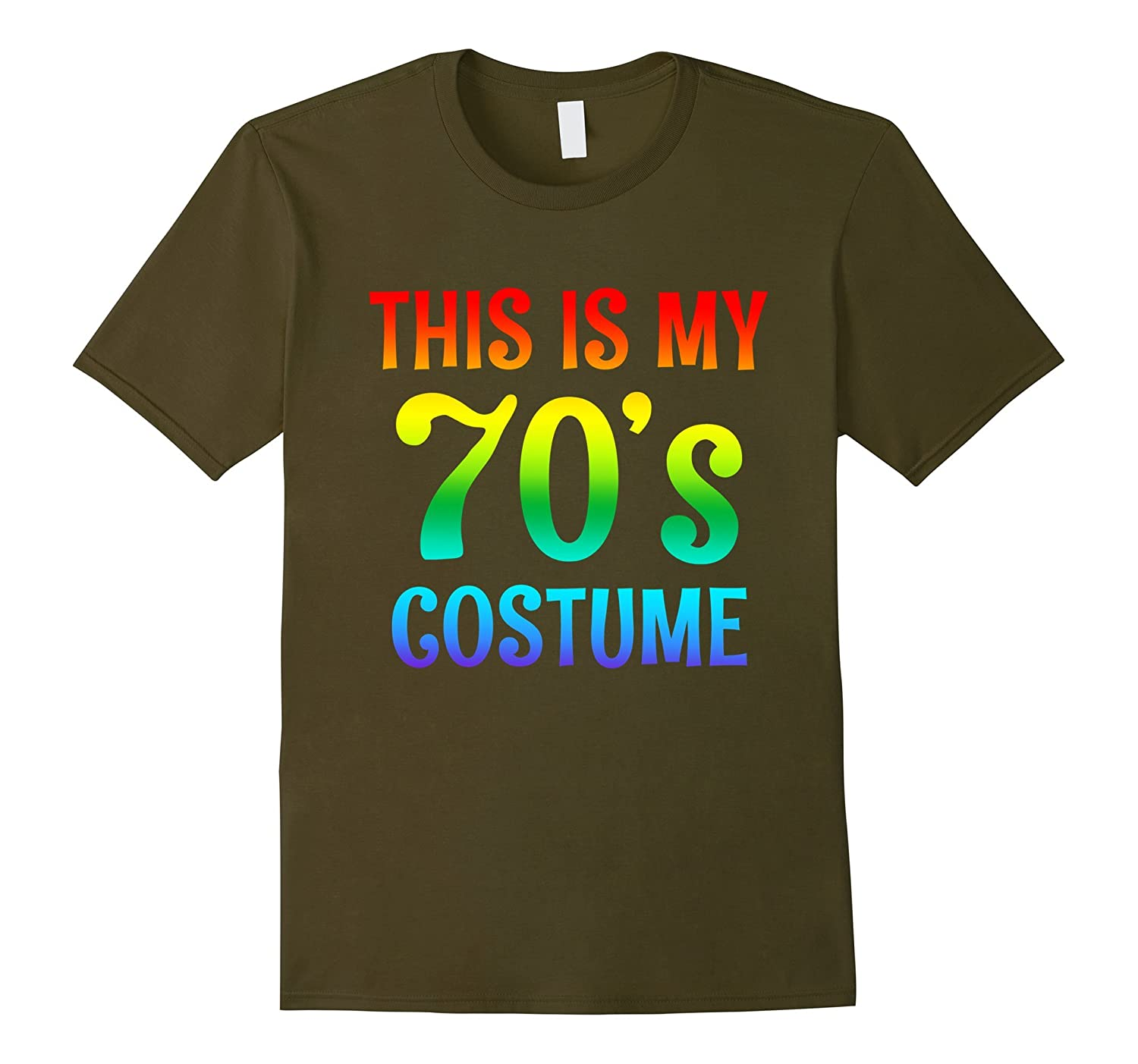 70s Costume Halloween Shirt for 1970s Party men women top-ah my shirt one gift