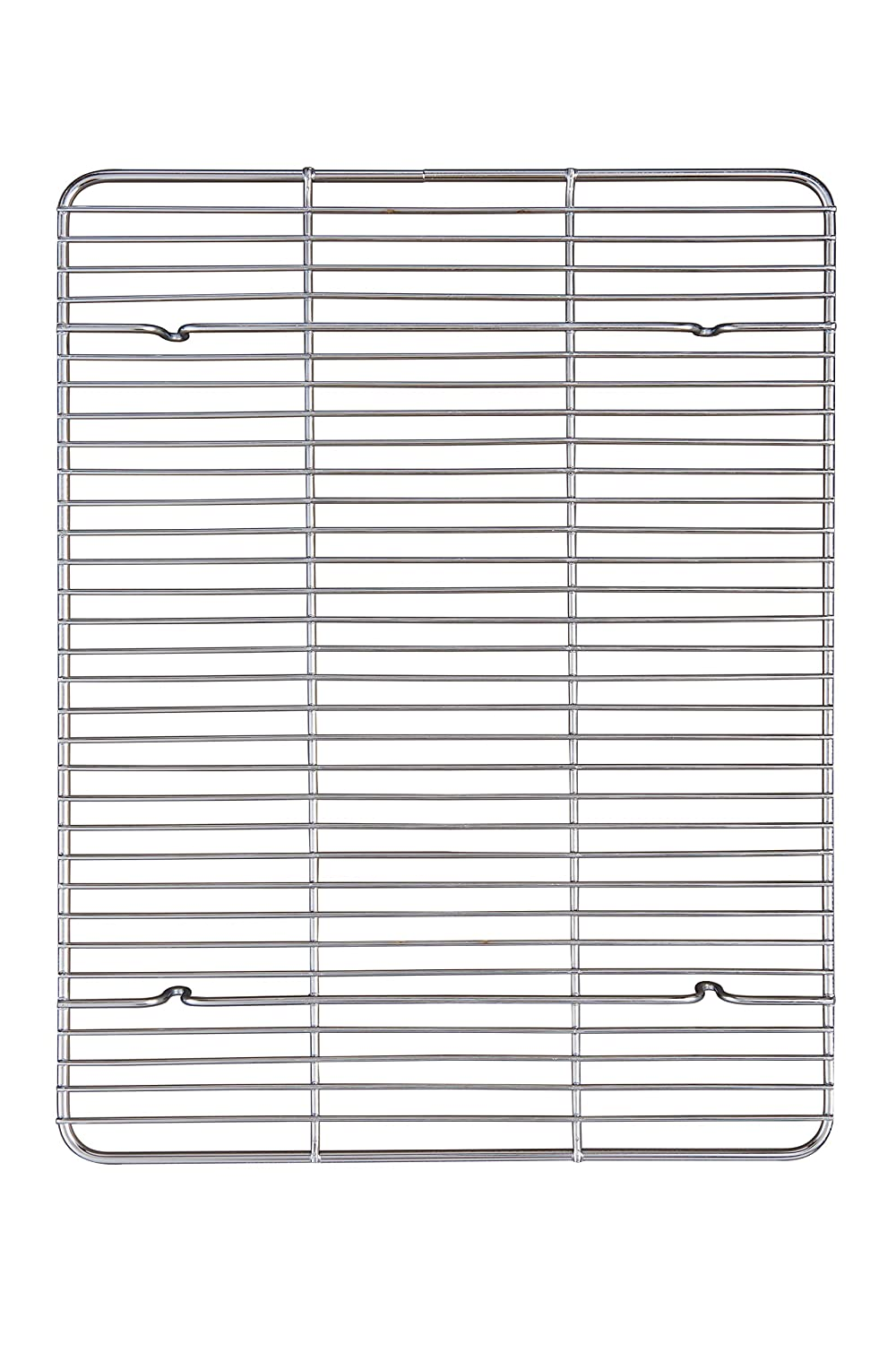 Mrs. Anderson's Baking 43187 Mrs. Anderson's Professional Baking and Cooling Rack, 16.5-Inches x 13-Inches, Silver