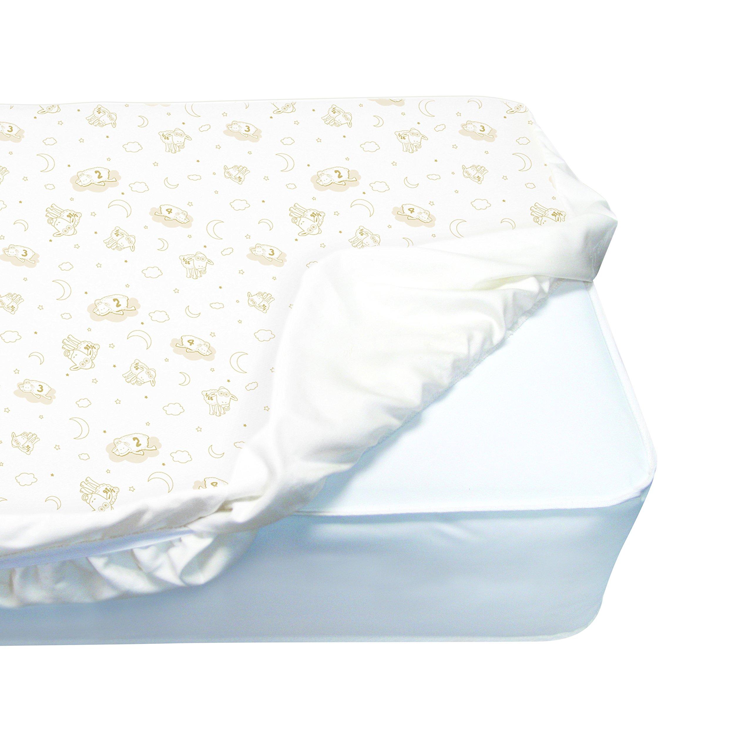 Amazon Com Serta Nightstar Extra Firm Crib And Toddler