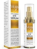 PREMIUM Anti Ageing Eye Serum for Dark Circles & Puffiness - Anti Wrinkle Eye Serum - Reduces Wrinkles, Bags, Saggy Skin & Puffy Eyes! High Quality Ingredients - Q10 - Matrixyl 3000 - Great Eye Treatment For All Types Of Skin. 100% Satisfaction