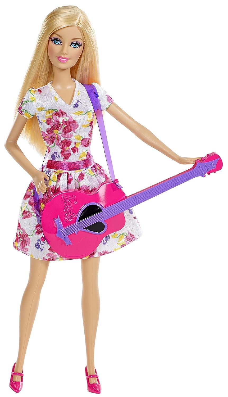 Mattel Barbie BDT24 - Puppe, Ich wäre gern... Sängerin