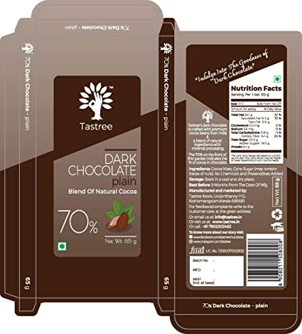Storage manufacture natural chocolate