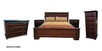 Wondrous Amazon Com D Art Java Bed Set In Real Mahogany Wood Size Download Free Architecture Designs Scobabritishbridgeorg