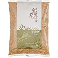 Pure & Sure Organic Sugar Brown, 1kg