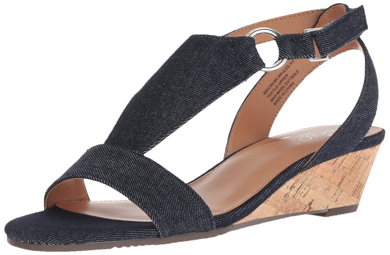 Aerosoles Women's Creme Brulee Wedge Sandal B074QV66DX 8.5 B(M) US|Denim
