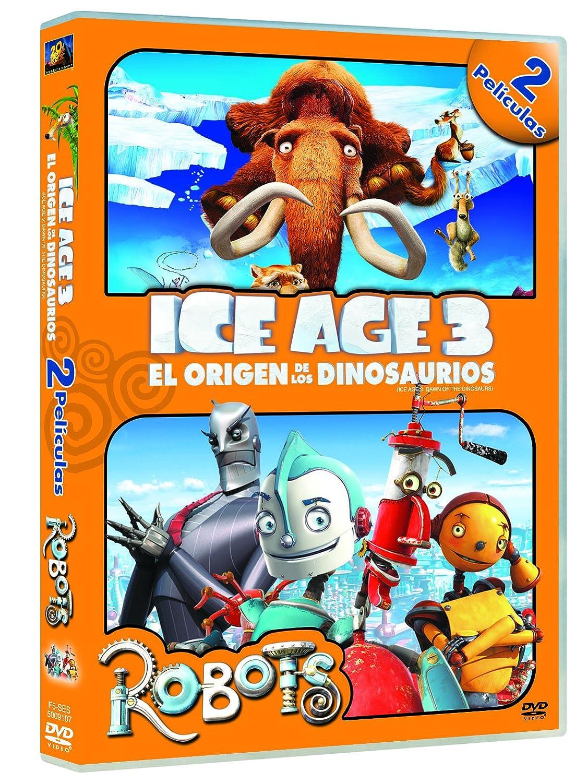Amazon.com: Ice Age 3: El Origen De Los Dinosaurios + Robots (Import Movie) (European Format - Zone 2) (2012) Chris We^: Movies & TV