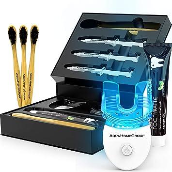 Amazon Com Aquahomegroup Teeth Whitening Kit With Led Light