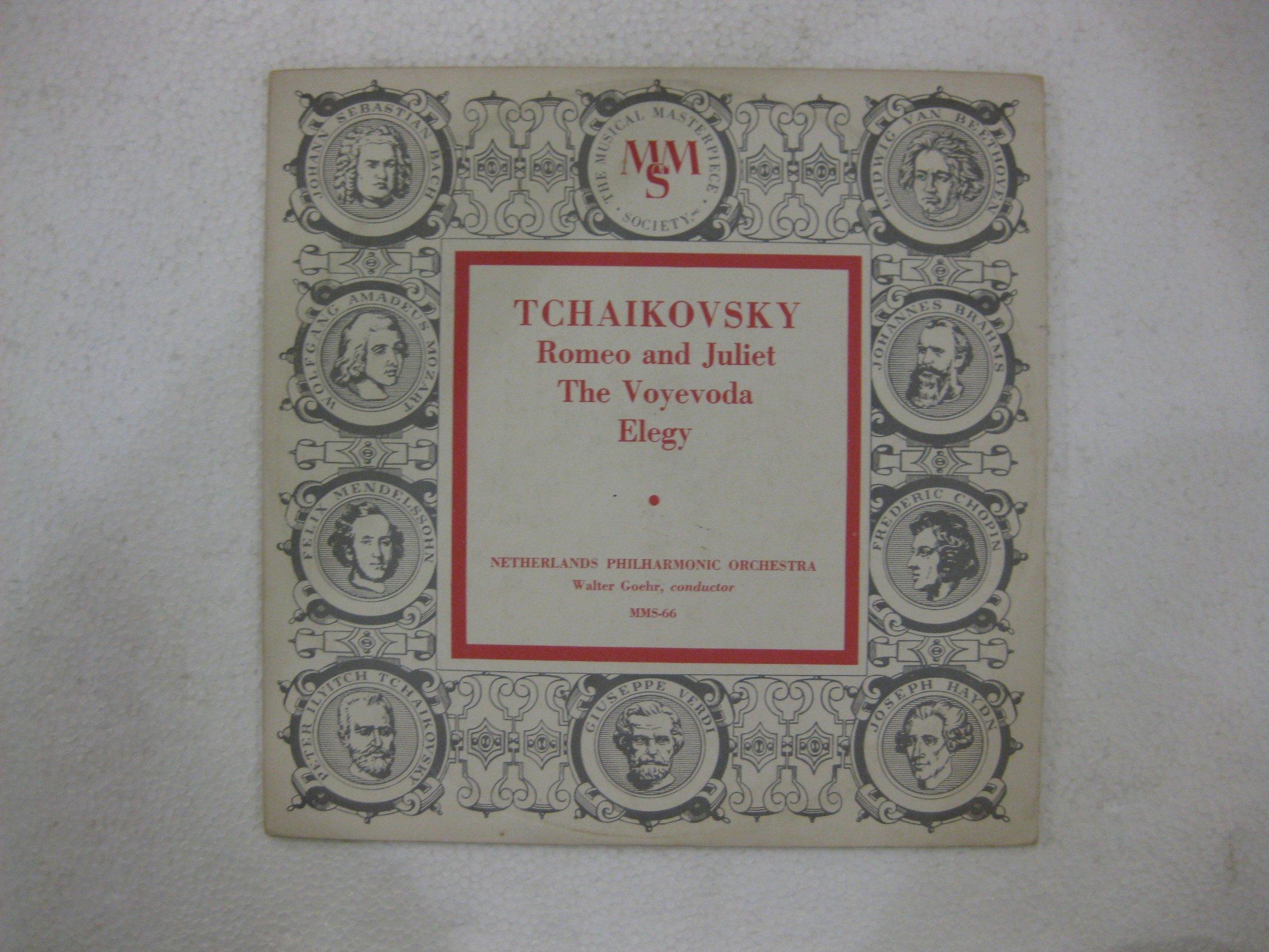 Tchaikovsky Romeo And Juliet The Voyevoda Elegy 10 Inch Vinyl