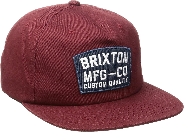 Brixton National Snapback – Gorra para Hombre, Hombre, National ...