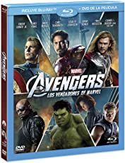 Los Vengadores / Avengers ( BR + DVD Combo Pack) [Blu-ray]