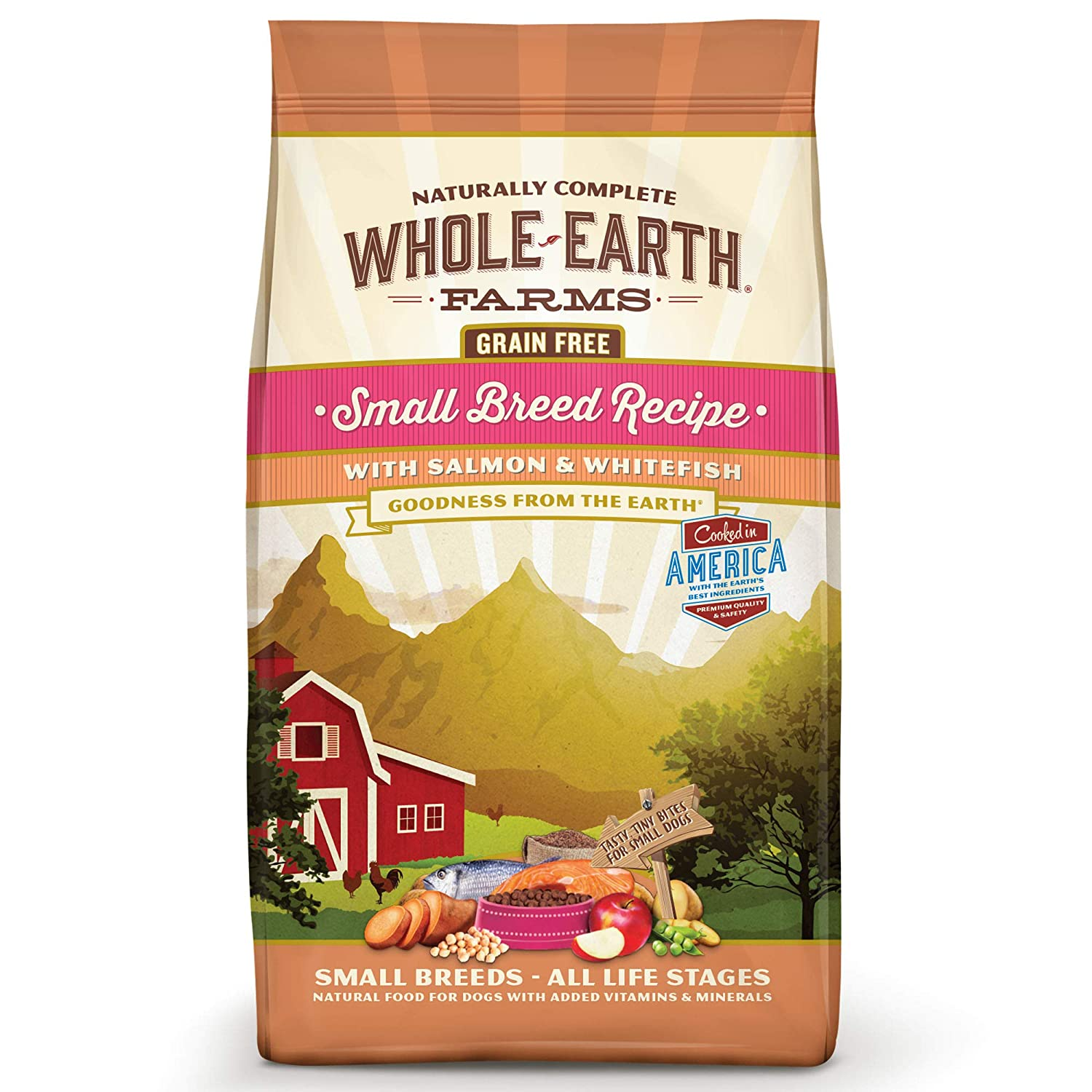 Whole Earth Farms Grain Free Small Breed Dry Dog Food