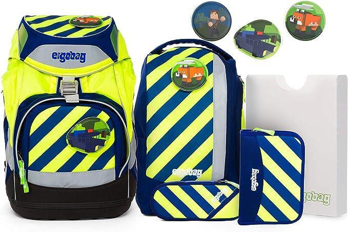 Set Schulranzen Schulrucksack 7-tlg Ergobag Pack Ranzen NEO EDITION! Neu
