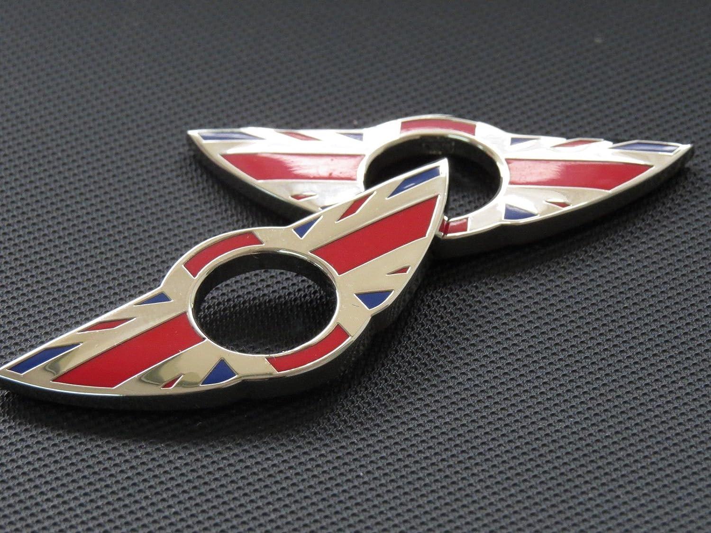Emblema para bloqueo de puerta en coche de la marca Pinalloy.