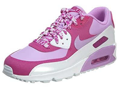release date: 7901a 248b7 Nike Men s Air Max 90 LTR Gs 724852 500 Baskets Trainers Pink Rose