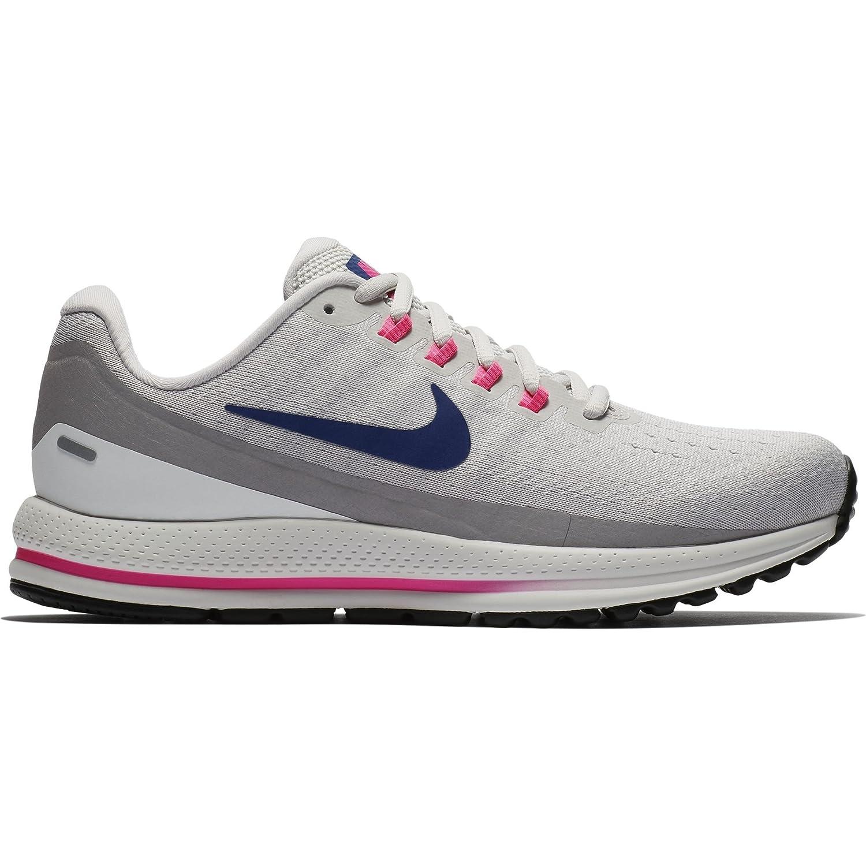 NIKE Women's Air Zoom Vomero 13 Running Shoe B07D89BW9W 8.5 B(M) US|Vast Grey/Deep Royal Blue