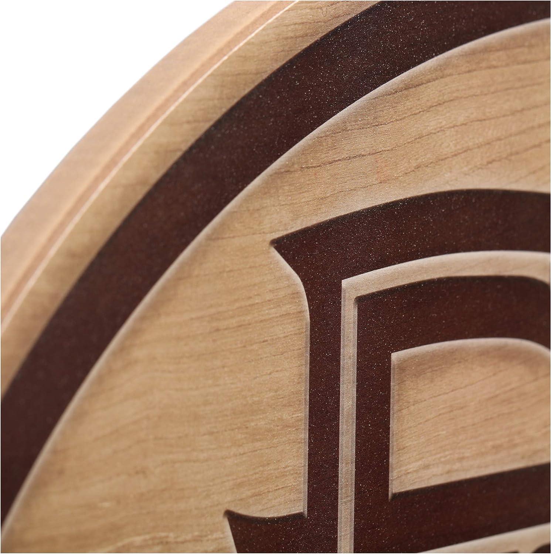Open Road Brands NCAA Collegiate University 6x6 Mascot Wood Wall D/écor