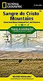 Sangre de Cristo Mountains Great Sand Dunes National Park & Preserve Colorado