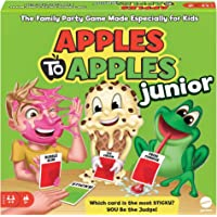 Mattel Games Apples to Apples Junior The Game of Crazy Comparisons (Packaging May Vary)