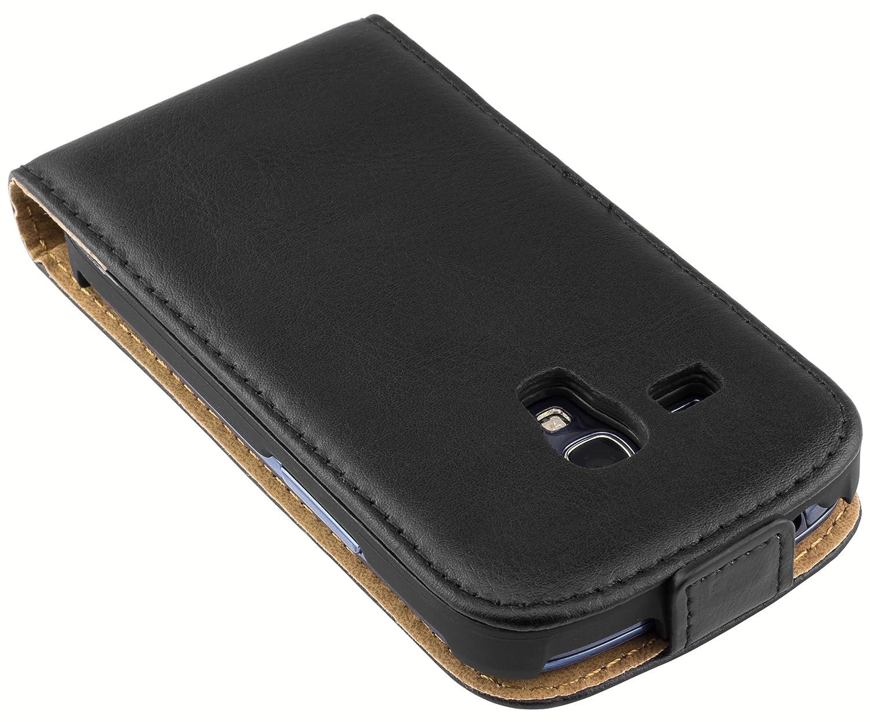 Tasche 2017 mumbi PREMIUM Leder Flip Case f/ür Samsung Galaxy A3