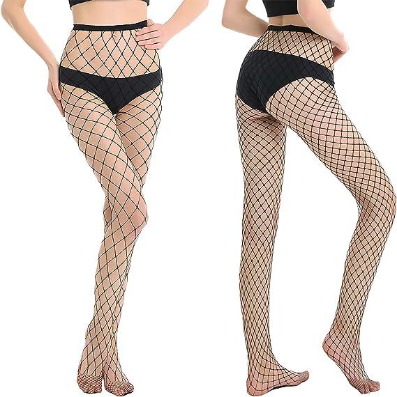 Fashion Women Stretch Slim Thin Rhinestone Pantyhose Fishnet Tights Stockings