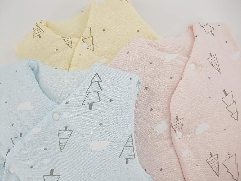 Unisex Newborn Baby Vest Infant Girls Boys Winter Button Down Jacket Outwear