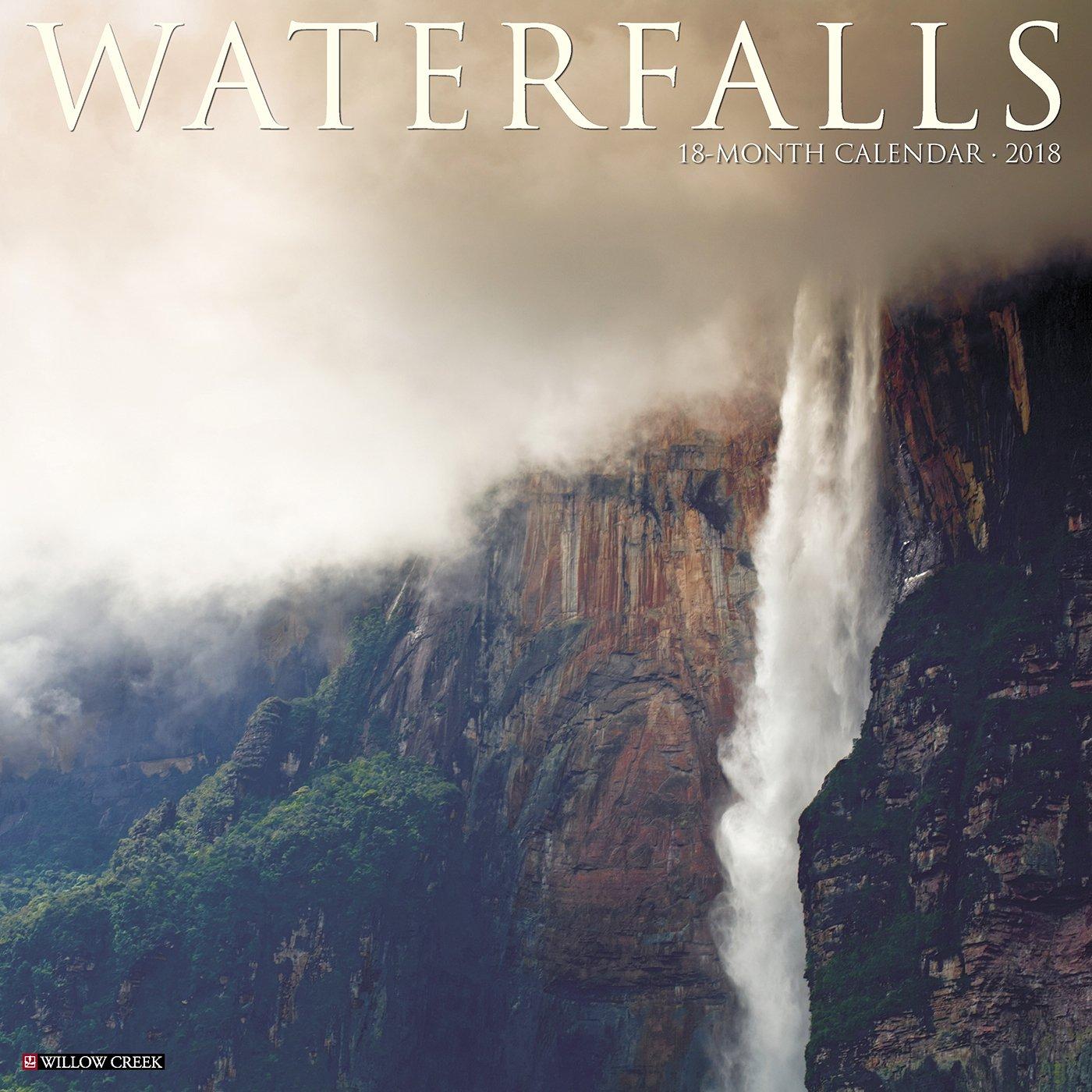 Waterfalls 2018 Calendar